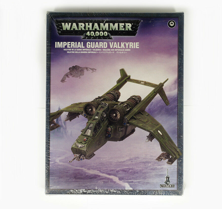 GAMES WORKSHOP 47-10 KIT IMPERIAL GUARD VALKYRIE , WARHAMMER 40K