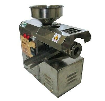 Automatic Cold Oil Screw Press Seed Press Machine Oil Production Shipped By Sea