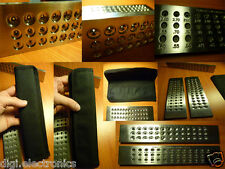 Tungsten Carbide Steel DRAWPLATE 39 Round Holes 0.26 - 2.80mm Draw Plate Wiring