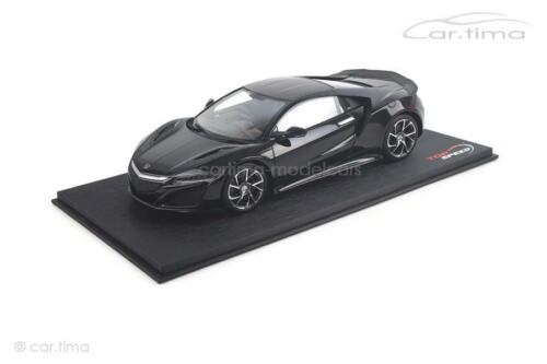 - BERLINA BLACK 1 of 999-topspeed HONDA NSX 1:18 RHD ts0064