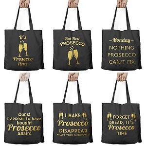 Wonderlijk Funny PROSECCO Drink Shopping Shopper Tote Shopping Bag for Life CO-54