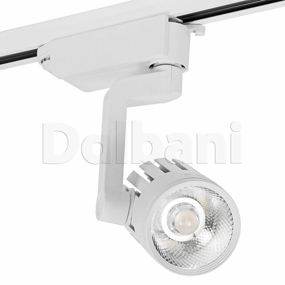 20PCS Modern LED Track Light Weiß 20w 6500K 2100LM COB Office Home Showroom