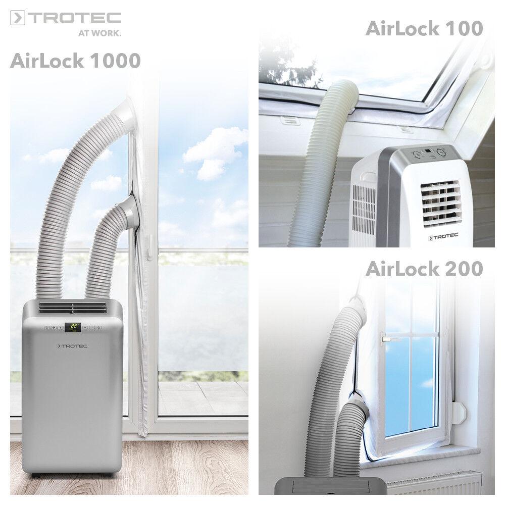 trotec air lock 1000 tür und fensterabdichtung | ebay