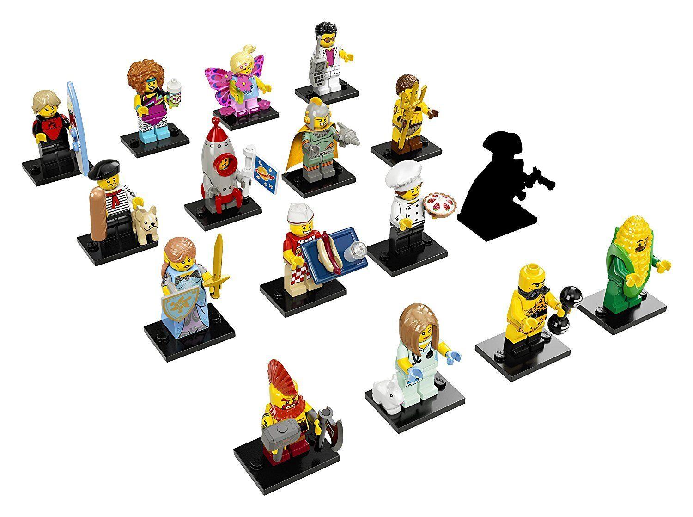 LEGO 71018 Minifigures Serie 17 - Komplettsatz mit allen 16 Minifiguren NEU CMF