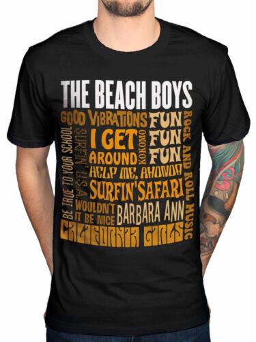 Official The Beach Boys Best Of SS T-Shirt Pet Sounds Surfin/' USA All Summer Lon