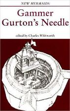 Gammer Gurton's Needle, Second Edition (New Mermaids)-ExLibrary