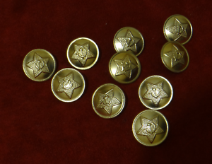 Details about 10 PCs Soviet Military uniform buttons Star, Hammer and  Sickle  100% original