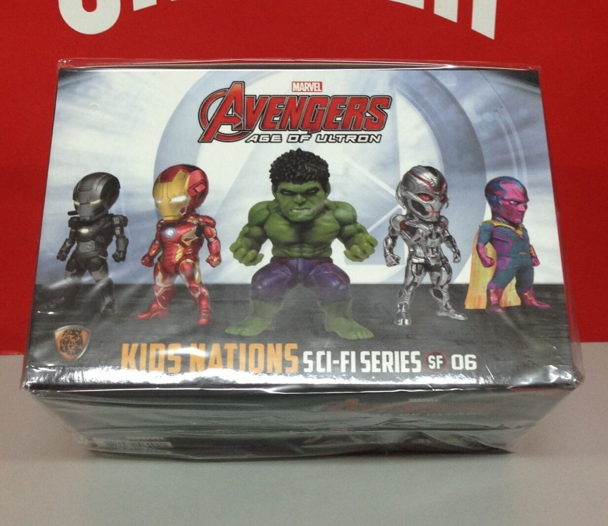 Kids Logic 2016 Avengers Age of Ultron Ironman Earphone Plug 5 LED figure 5pcs