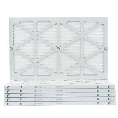 Actual Size 12 Pack 22x22x1 MERV 10 Pleated Air Filters for AC and Furnace 21-1//2 x 21-1//2 x 7//8