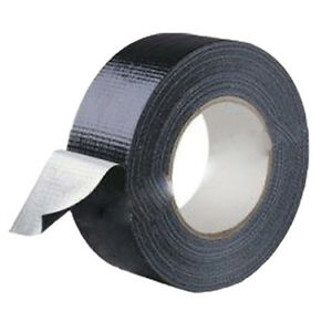 Waterproof-Black-Highly-adhesive-Heavy-Duty-Gaffer-Cloth-Duct-Tape-4-8cm-9m-O9K2