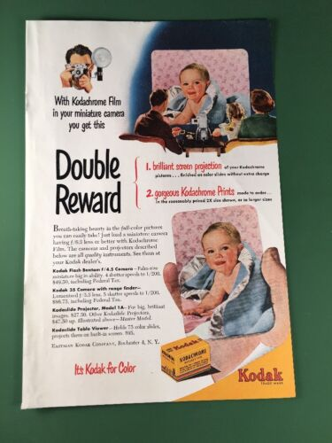 1950 Kodak Kodachrome Advertisement