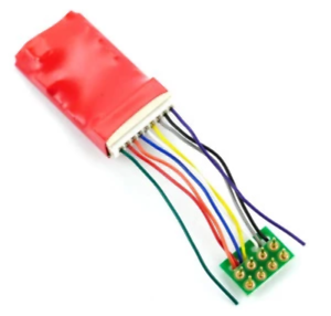 Gaugemaster-DCC94-Ruby-Series-6fn-Pro-DCC-Decoder-8-Pin