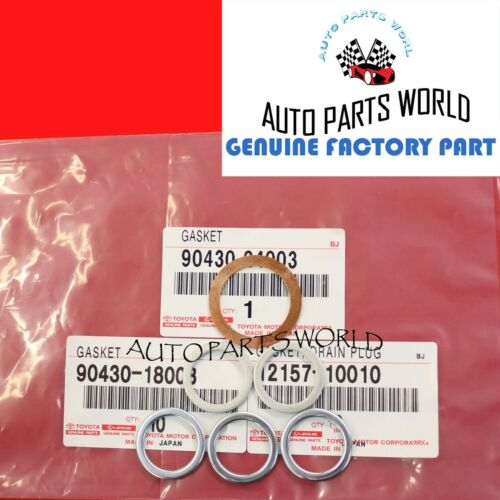 GENUINE TOYOTA GASKET KIT FOR TRANSFER AND DIFFERENTIAL SERVICE 3 TYPE GASKETS