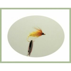 Amber Nymphs 6 Pack Trout Flies Choice of Sizes Fishing Flies
