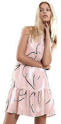 authentic new images of cheapest REISS Anastasia Artist Print Dress Size 4 MSRP: $330 | eBay