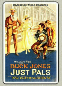 Just Pals (1920)  (DVD, 2016) New/Sealed