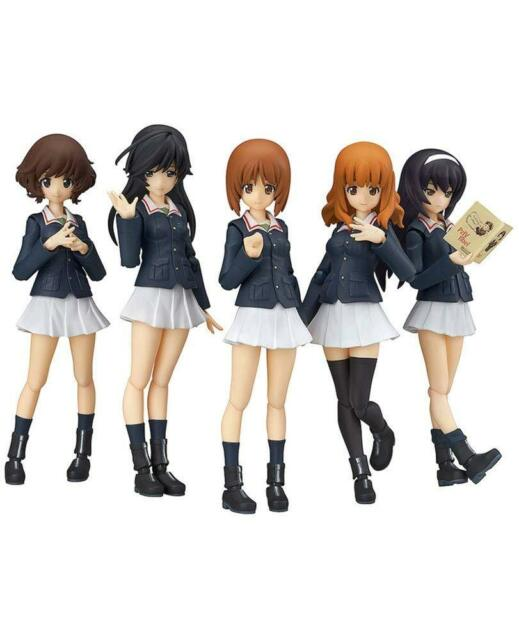 figma Angler Team Set EX-031 Girls und Panzer Figure limited edition  Ankou Team