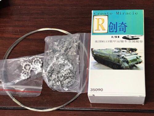 R Model #35090 1//35 Metal Track and Metal Pin For U S M113 APC