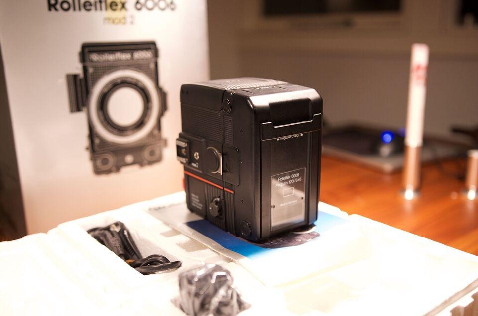 Rollei, Rolleiflex 6006 Mod 2 m. objektiver, Perfekt