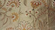 Colefax & Fowler Loredana silk Beige fabric, 48cm long/ 130cm wide, RRP £147