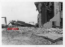 BUYMUC LARGE FOTO Polska Zerstörung Fluplatz Okascic 1939    3,4,16