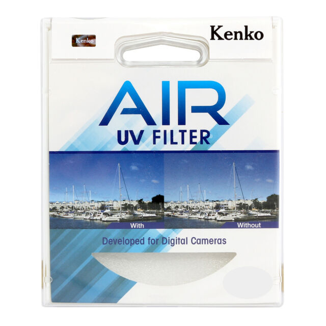 NEW Genuine Kenko Air UV Filter Ultra Thin Slim Frame Camera Lens Filter 77mm