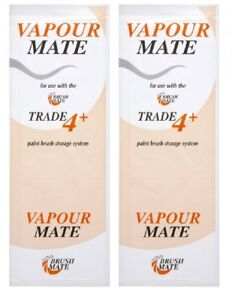Image is loading 2-Pack-Brush-Mate-Vapor-Pads-For-Trade-  sc 1 st  eBay & 2 Pack - Brush Mate Vapor Pads - For Trade 4+ Storage Box   eBay