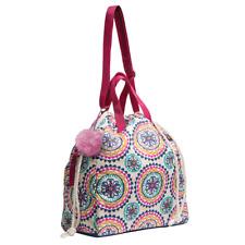 Douglas Cuddle Toys Girls Plush Purse Ivy Frog Tote Bag Pink Green Brand New