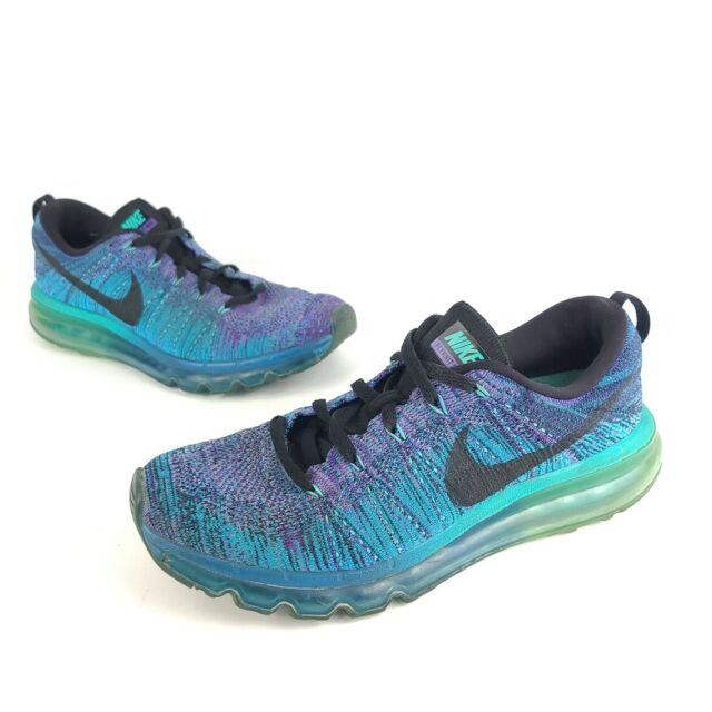 Size 8 5 Nike Flyknit Max Purple For Sale Online Ebay