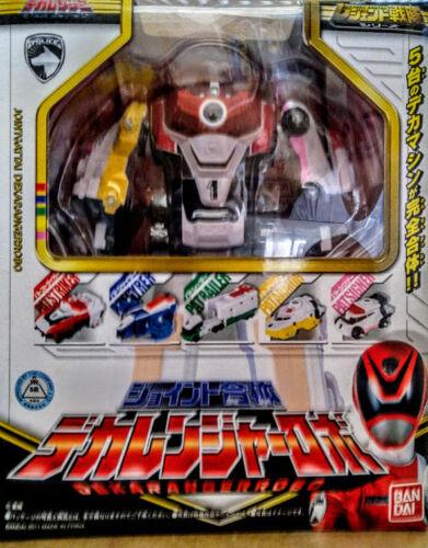 Power Rangers SPD 8 inches Deluxe Delta Squad combine megazord toy