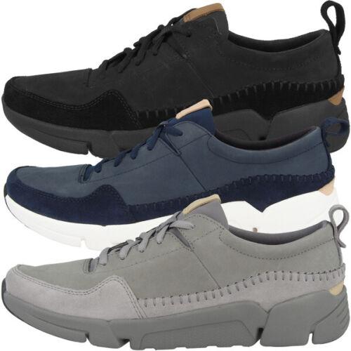 Clarks Tri Active Run Chaussures Men Hommes Loisirs Sneaker Chaussures De Sport SUEDE