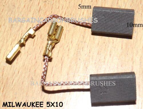 KOHLEBÜRSTEN passend MILWAUKEE Polierer AP14-2 200E ag13-125x ag15-125xc agv D7