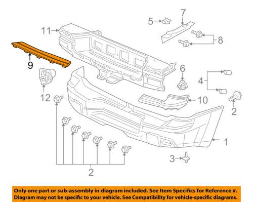 Chevrolet GM OEM Rear Bumper-Step Pad Protector Scratch Guard Cover 88938462