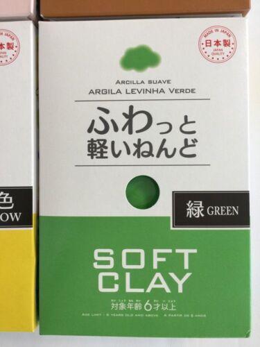 Daiso Soft Clay Arcilla Suave Argila Levinha Branco Craft Clay Made in Japan