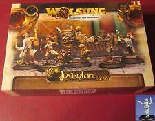 Micro Art W00099 Wolsung Inventors Club Starter #2 Steampunk Engineers Heroes