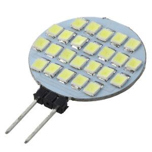 5x-Lampadina-12V-LED-SMD-G4-base-bianca-Camper-Luce-Marine-24
