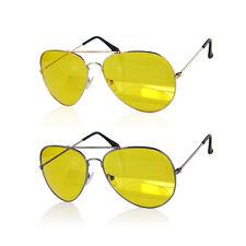 HD Night Vision Sun Glasses Yellow Driving View Sunglasses Uv400