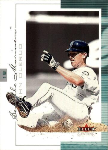 2001 Fleer Genuine Baseball Cards 1-100 Pick From List
