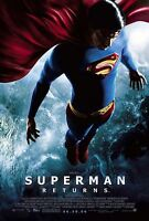 Superman Returns (2006) Original Movie Poster - Rolled - Double-sided
