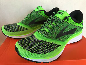 Details about Brooks Revel 1102601D340 Green Neutral Cush Marathon Road Running Shoes Men's 8