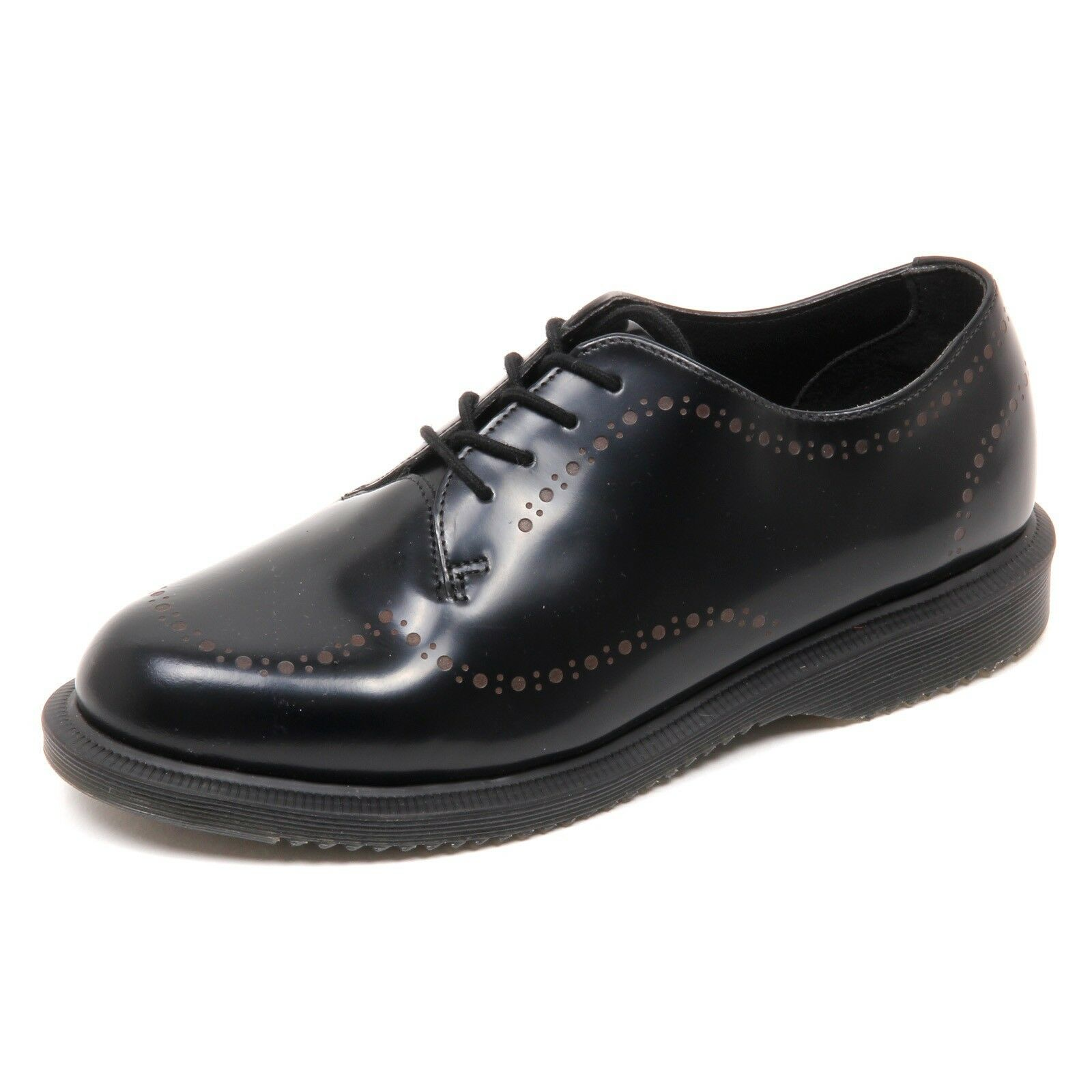 D4042 (without box) nero scarpa donna DR. MARTENS CHARLOTTE SMOOTH nero box) shoe woman 61ee34