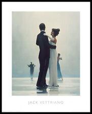 Jack Vettriano Dance me to the End of Love Poster Kunstdruck und Rahmen 50x40cm
