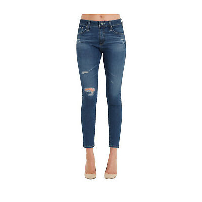 NEW Adriano Goldschmied Farrah Skinny Ankle Jeans Blue