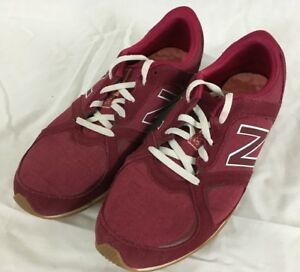 New Balance 555 Red Athletic Low Top