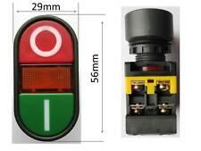 Motorschalter Maschinenschalter Taster Geräteschalter mit Leuchtmelder 230 Volt