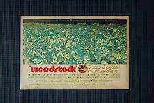 Woodstock Tour Poster 1969 #4
