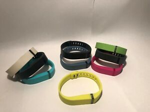 Lot 9 Fitbit Flex Small / Med /Large Band Replacement Wristbands Multiple Colors