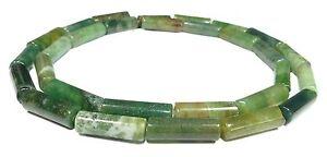 mousse-agate-LAMINAGE-tube-environ-4-x-13mm-Perles-chapelet-acha-50