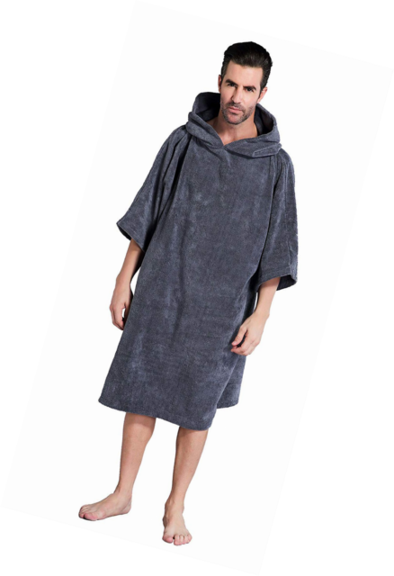 d0506560683 Winthome Adults Surf Beach Hooded Poncho Cover up Changing Bath Robe ...