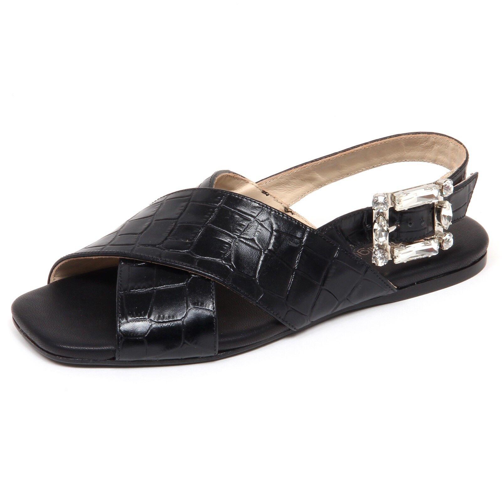F4176 sandalo mujer negro Anna baiguera ave zapatos zapatos Woman